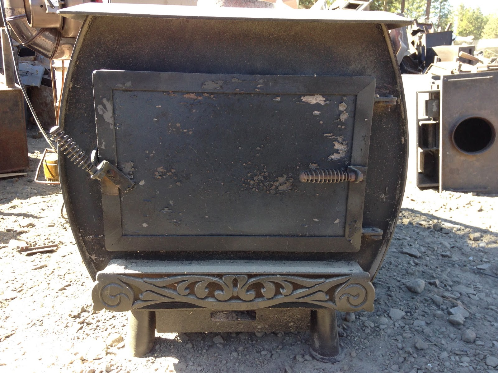 Turn in your old working wood stoves in Kittias County and earn $250.