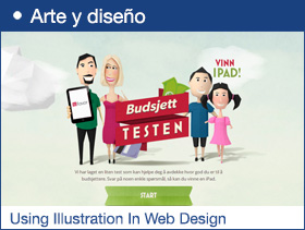 Best Example Of Using Illustration In Web Design