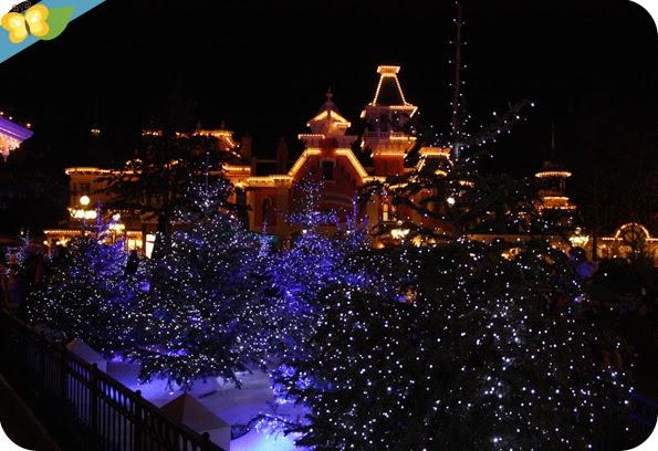 Illuminations de Noël à Disneyland Paris