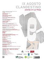 Cartel Agosto Clandestino 2013