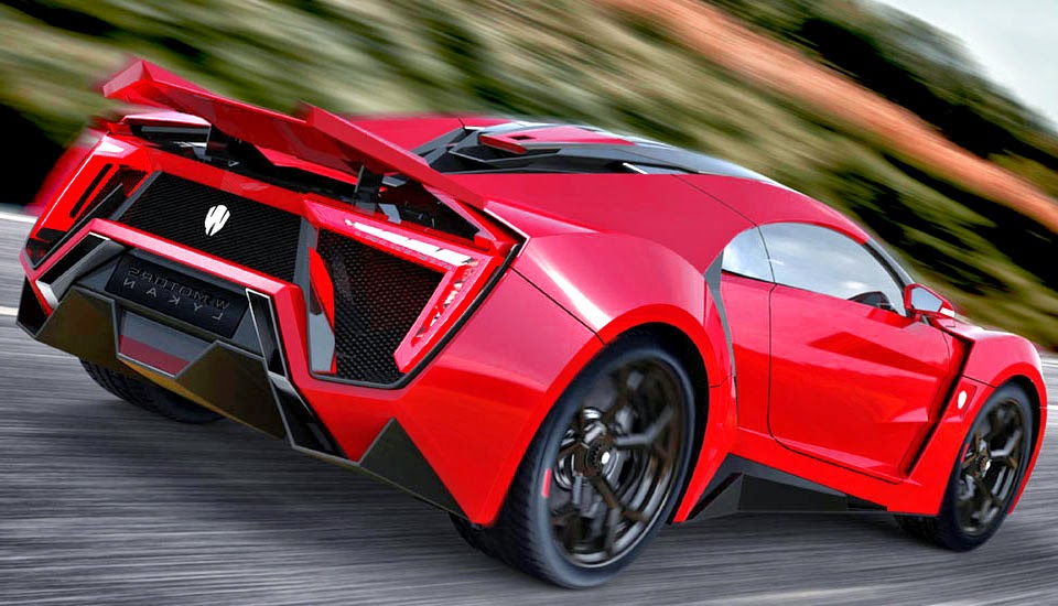 Lykan Hypersport Red Specs
