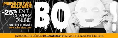 Promoción Halloween 2013 en Iroha Nature