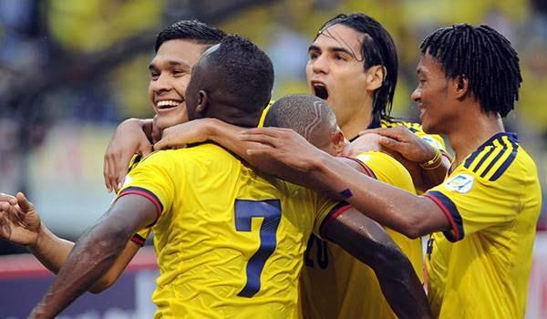 Jugadores de la Selección Colombia Cortesía de la Federación Colombiana de Fútbol FelixNOTICIAS para OngAE