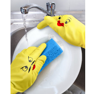 Image: Hand-Puppet Dish Gloves - Shop USA