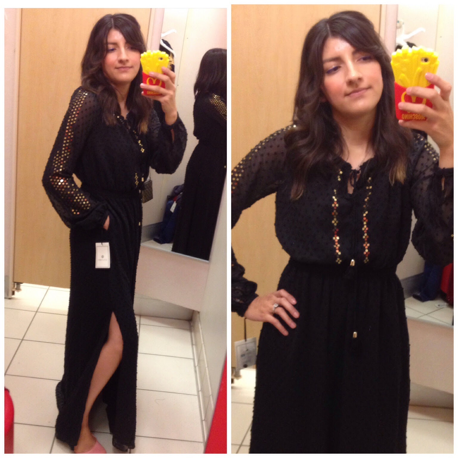 altuzarra for target review black maxi dress