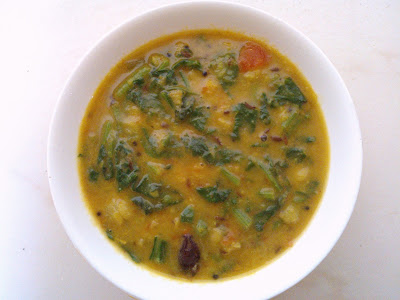 Simple Palak Dal