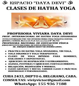 CLASES DE HATHA YOGA EN BELGRANO