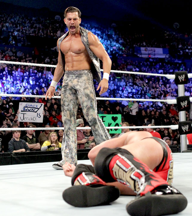 Ryback Bench Press: I LOVE WWE: Fandango Attack On Y2J