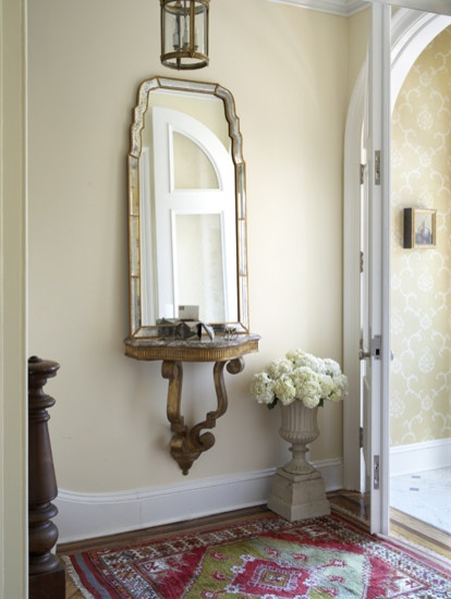 Small Foyer Table And Mirror : Auction decorating small console tables for
