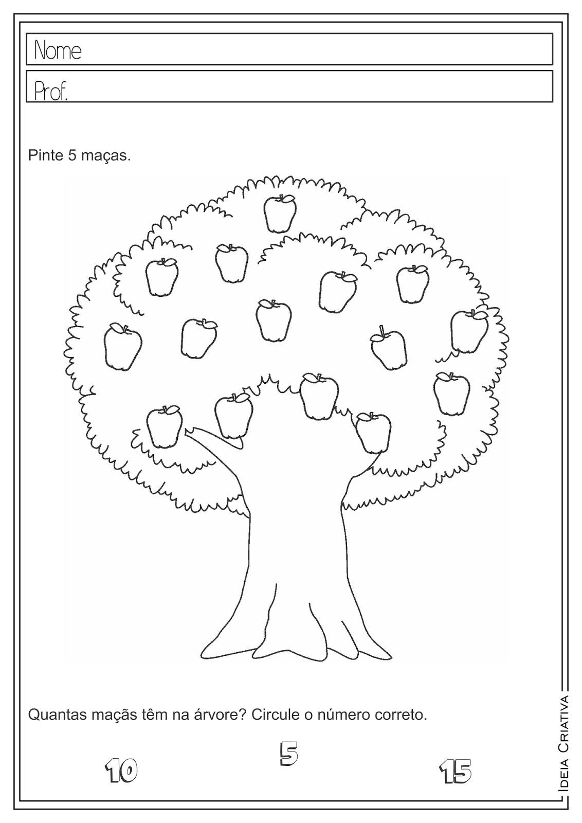 Atividades Educativas Dia da Árvore - Produção de Texto para Ensino Fundamental