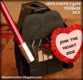 Lego Darth Vader Valentine Box From Talk About Blackberry.