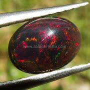 Batu Permata Black Opal Kalimaya - SP878
