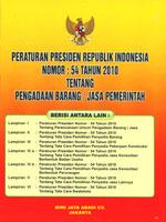 BERLAKU MASA PERALIHAN IMPLEMENTASI PERATURAN PRESIDEN NOMOR 54 TAHUN 2010
