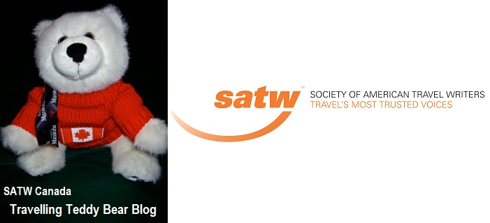 SATW Canada Travelling Teddy Bear Blog