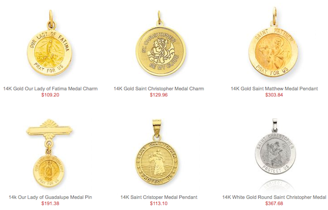 Patron Saint Medallions