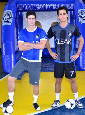 Phil and James Younghusband for CLEAR
