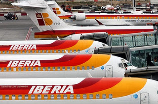 Vuelos cancelados huelga iberia febrero 2013 aeropuerto for Oficinas iberia express