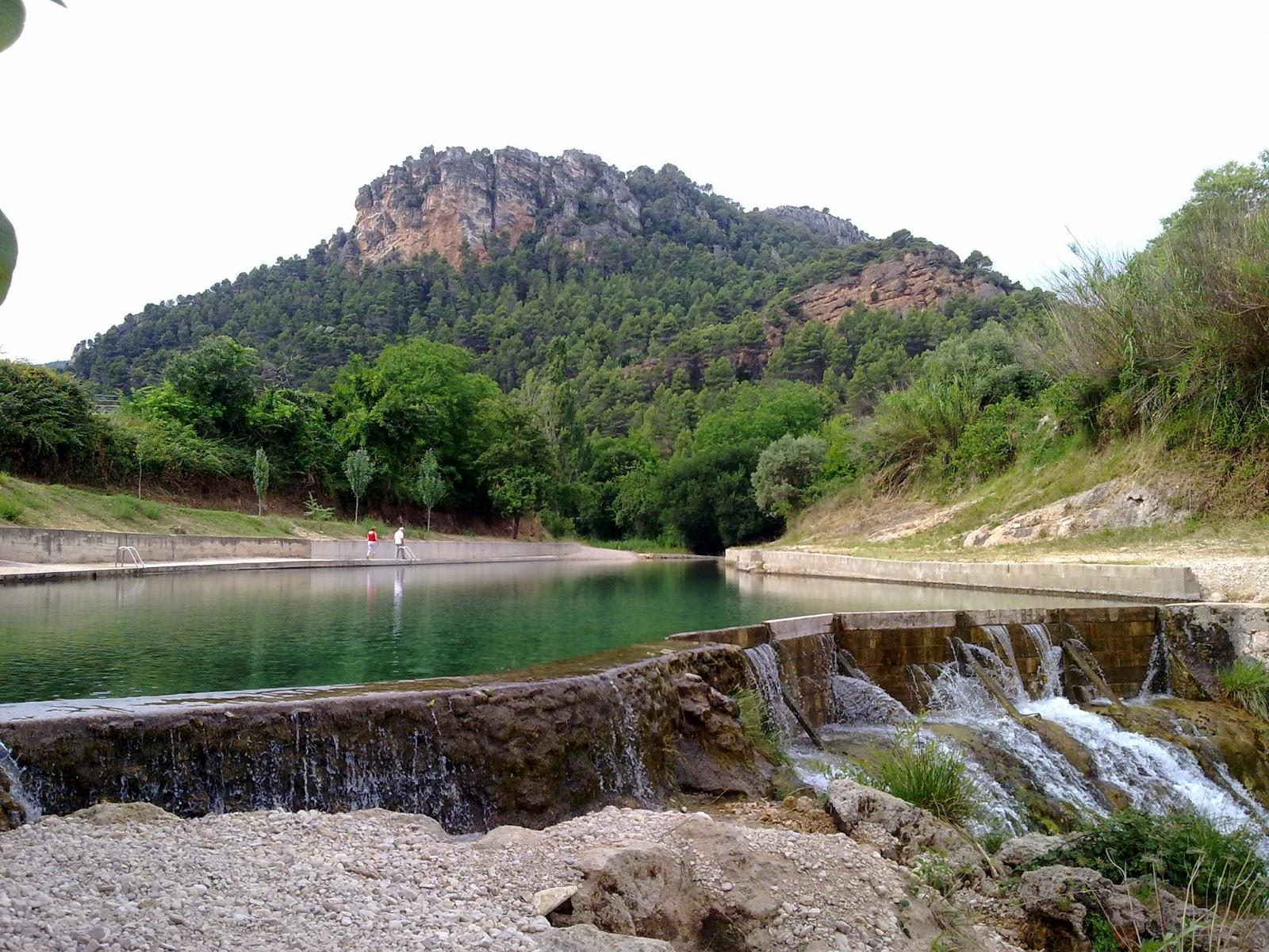 Piscina natural río Matarraña cerca de nuestros apartamentos