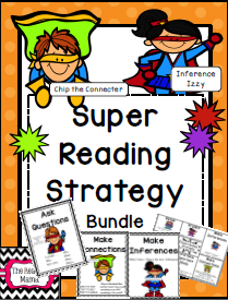 http://www.teacherspayteachers.com/Product/SUPER-Reading-Strategy-Anchor-Chart-Bundle-505759