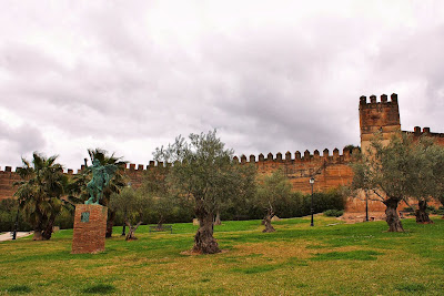 The Alcazaba in Badajoz