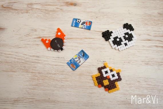 Imanes DIY de Hama Beads