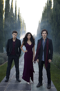Vampire Diaries, Vampire Diaries season 1, Tea Damon and Elena