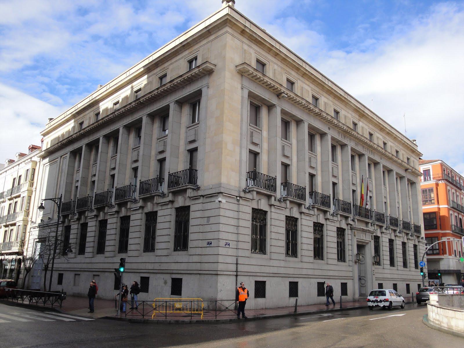 El banco de espa a en valladolid for Sucursales banco espana