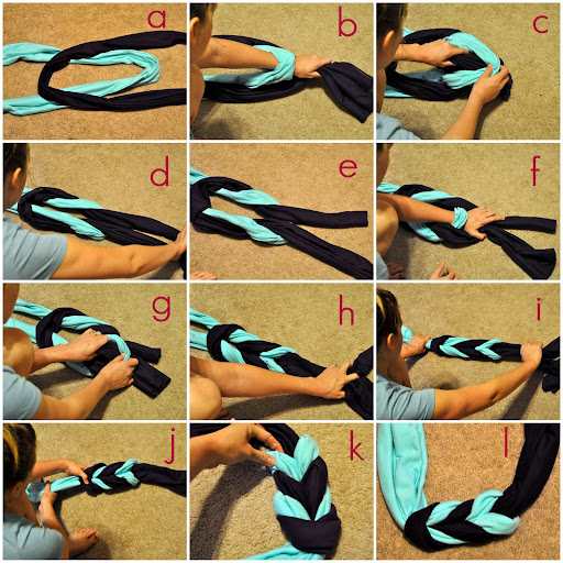 Put up your dukes braided infinity scarf free tutorial for How to put a picture on a shirt diy