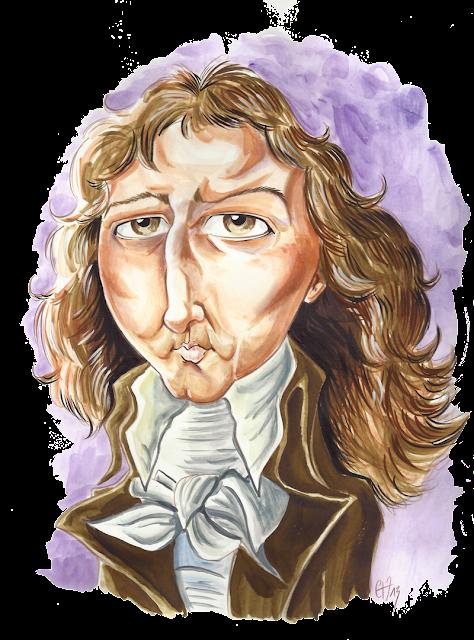 Caricature du Baron Gérard
