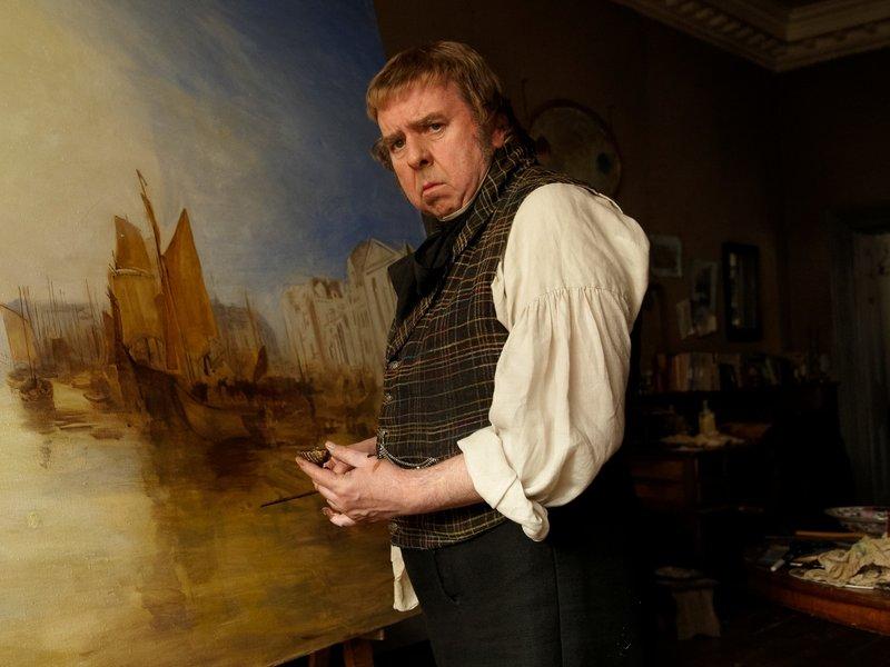Escena película Mr Turner