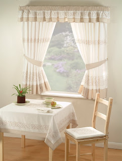Office Interior Design: Kitchen Curtains