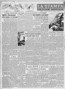 LA STAMPA 1 OTTOBRE 1942