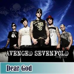 kunci gitar dear god avenged sevenfold