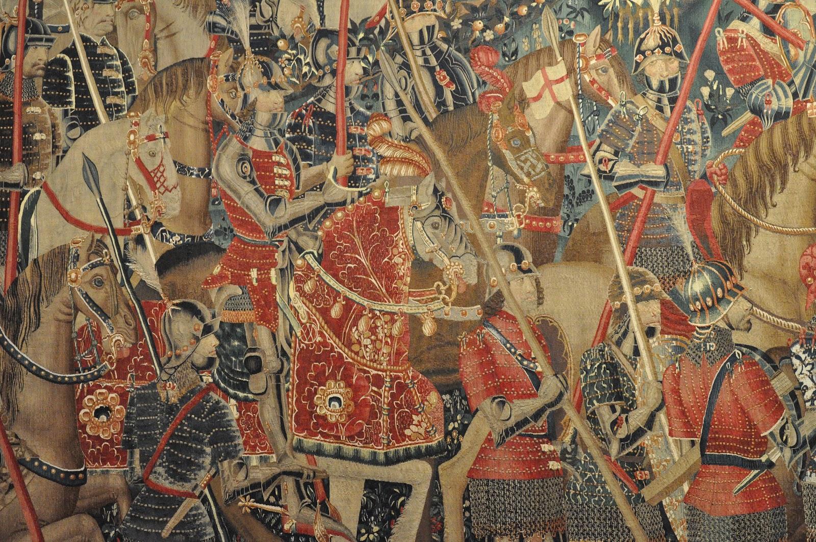 Los tapices de Pastrana. Siglo XV  DSC_2939