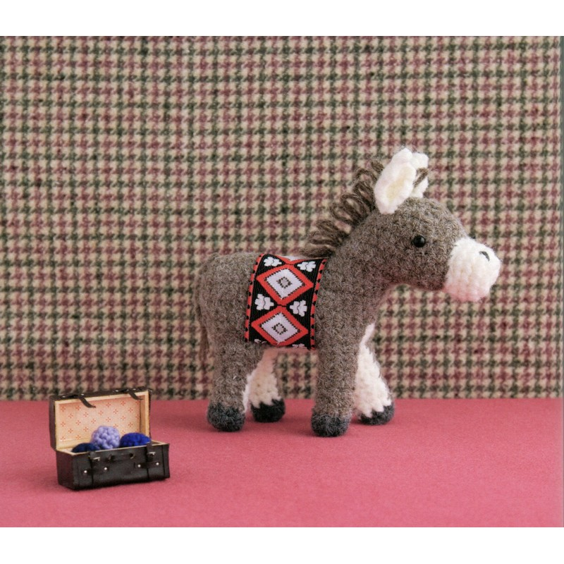 Amigurumi Free Pattern Food : Amigurumi Donkey Plush Crochet Pattern PDF CraftyLine e ...