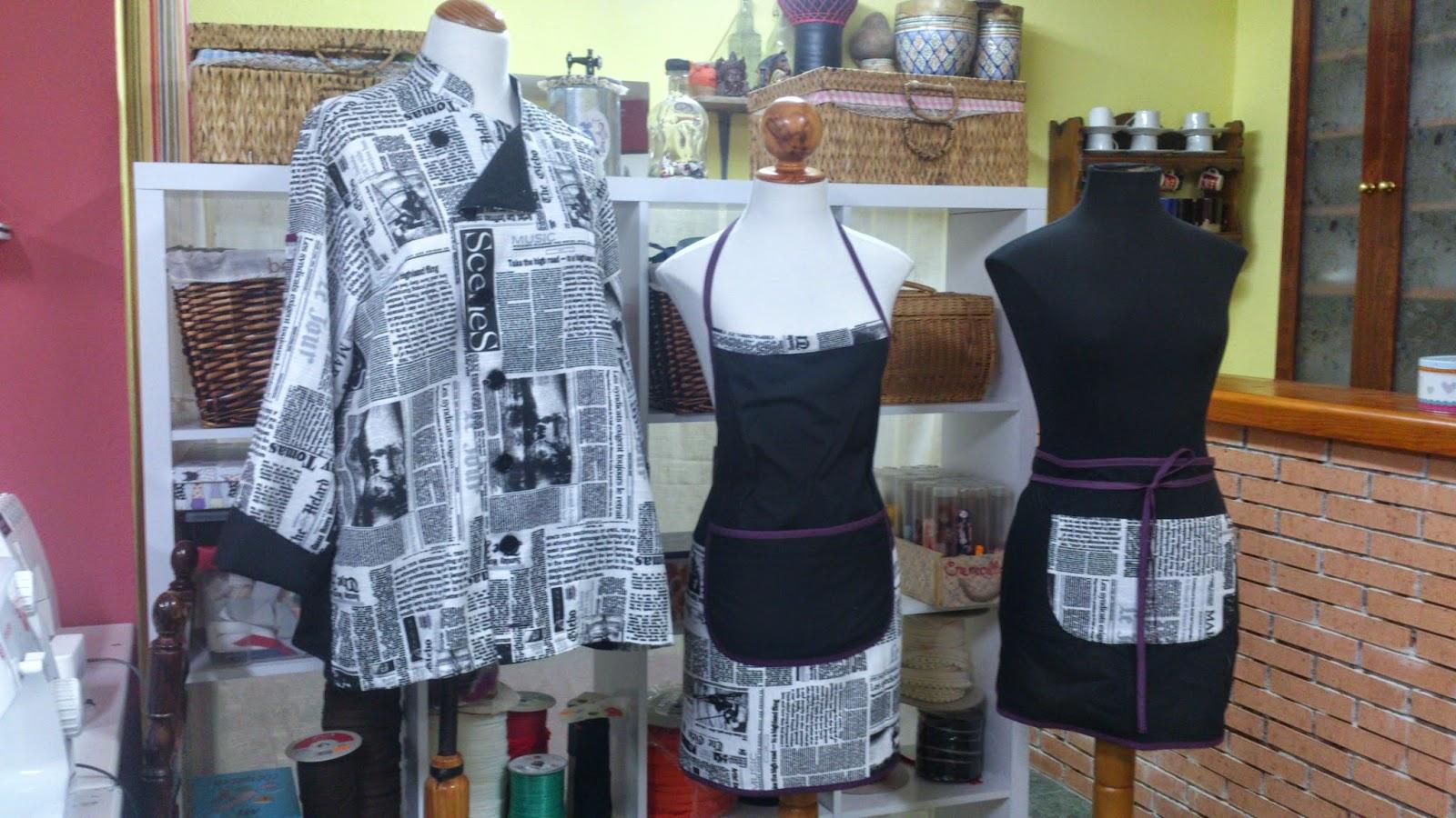 Mariola del rei chaquetillas gorros y mandiles de cocina - Chaquetillas de cocina ...