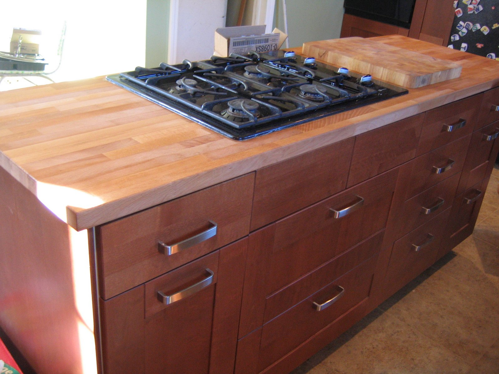 Sanding butcher block countertops home improvement How to install butcher block countertop