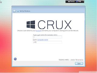 Windows 7 Crux Edition 2015 x86 ( 32 Bit ) Full Terbaru