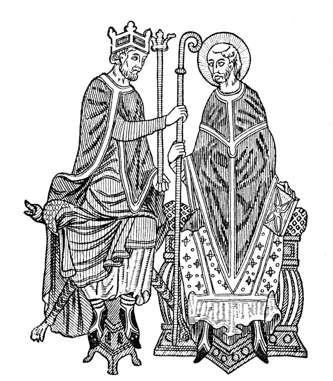 Inwestytura: nominacja na biskupa prez sredniowiecznego swieckiego wladce