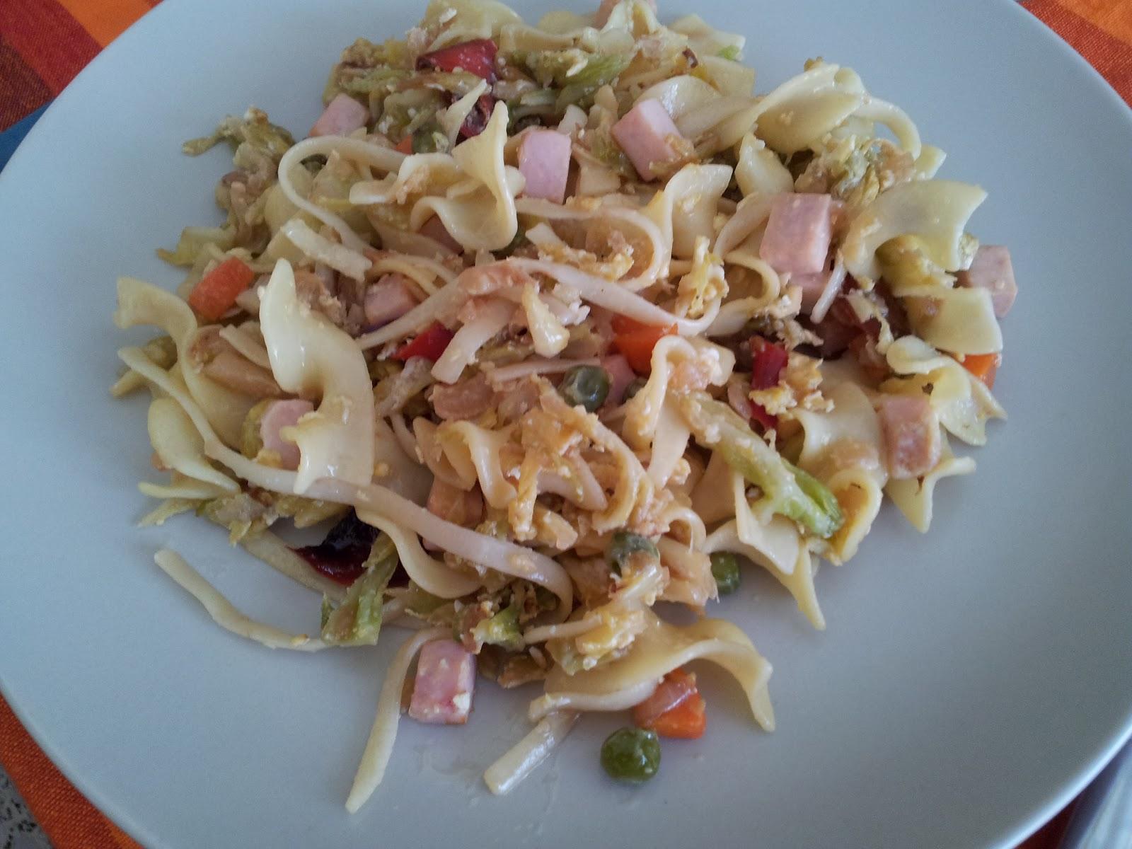 Las recetas de martincia ensalada templada de repollo for Como preparar repollo