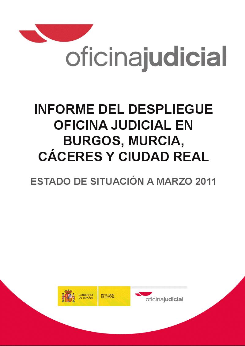 Ugt justicia castilla y leon informe ministerio de for Oficinas dela caixa en murcia