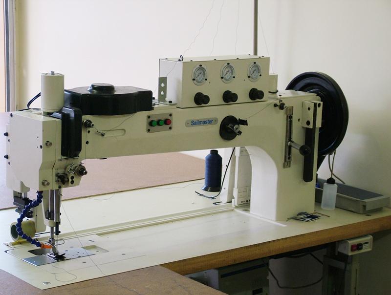 Maquina de coser zig zag para coser velas toldos veleria for Maquina para toldos