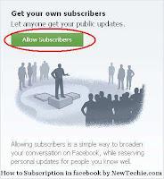 tombol subcribe berlangganan facebook