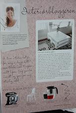 I interiørmagasinet Boligdrøm Sept - 2011