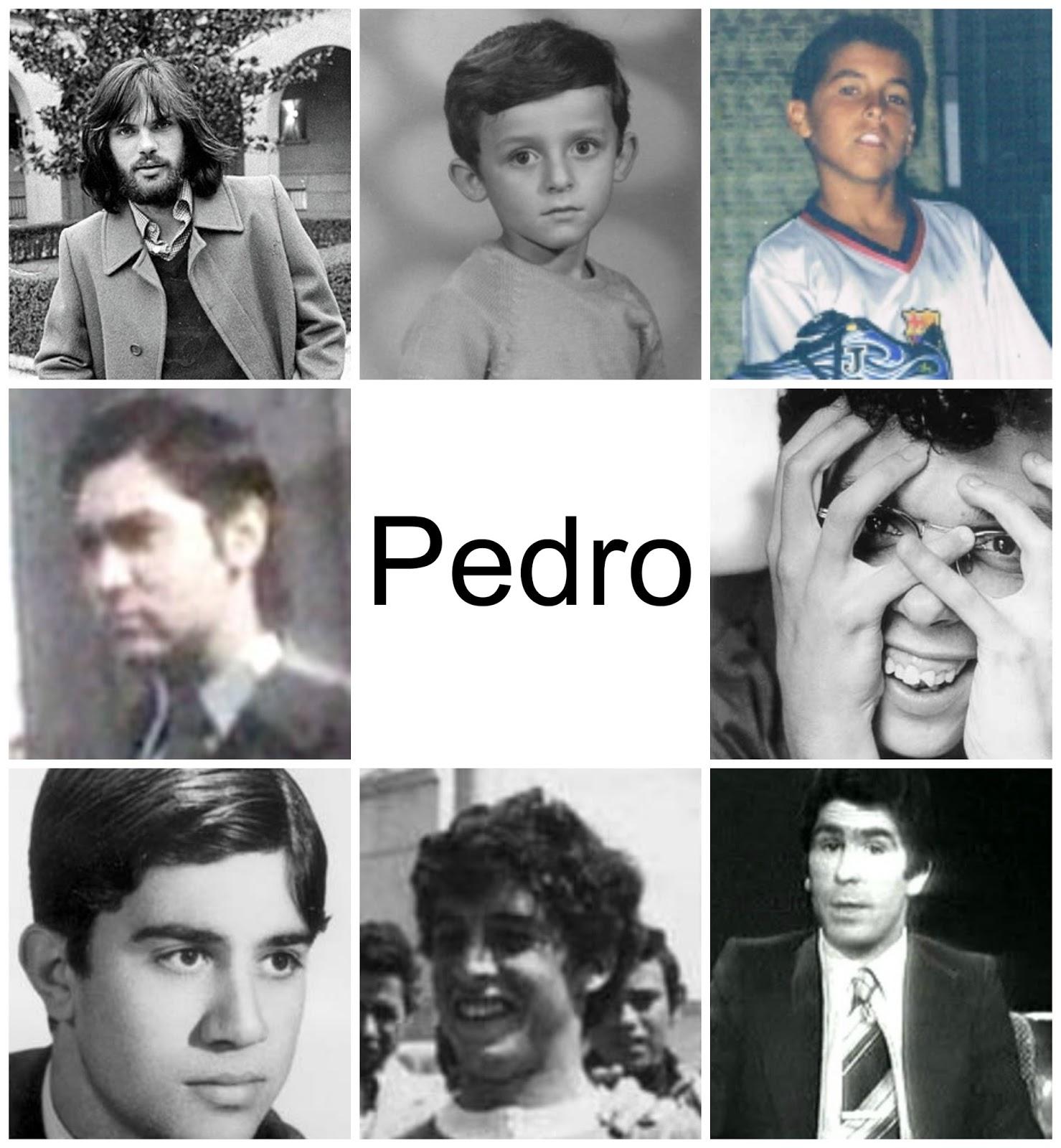 Pedros famosos infancia y juventud