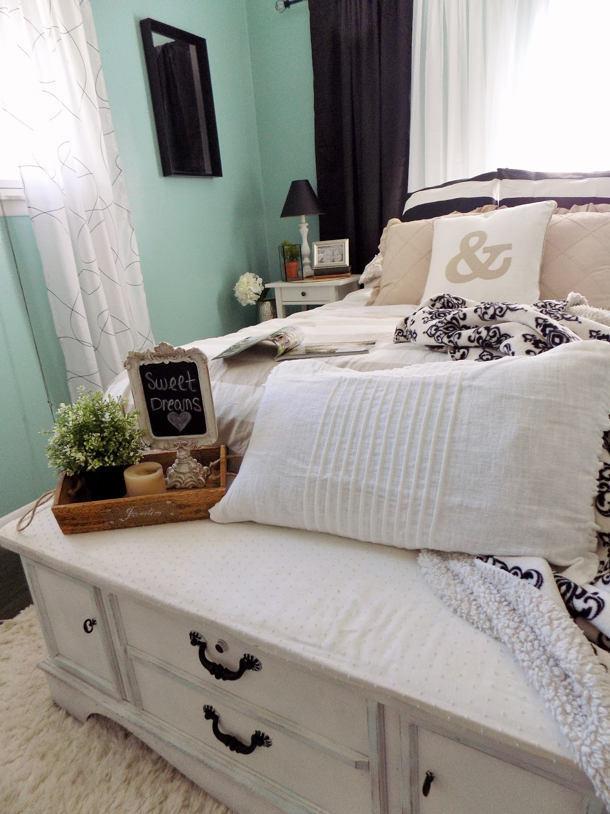 The Quaint Sanctuary Rustic Glam Master Bedroom Reveal