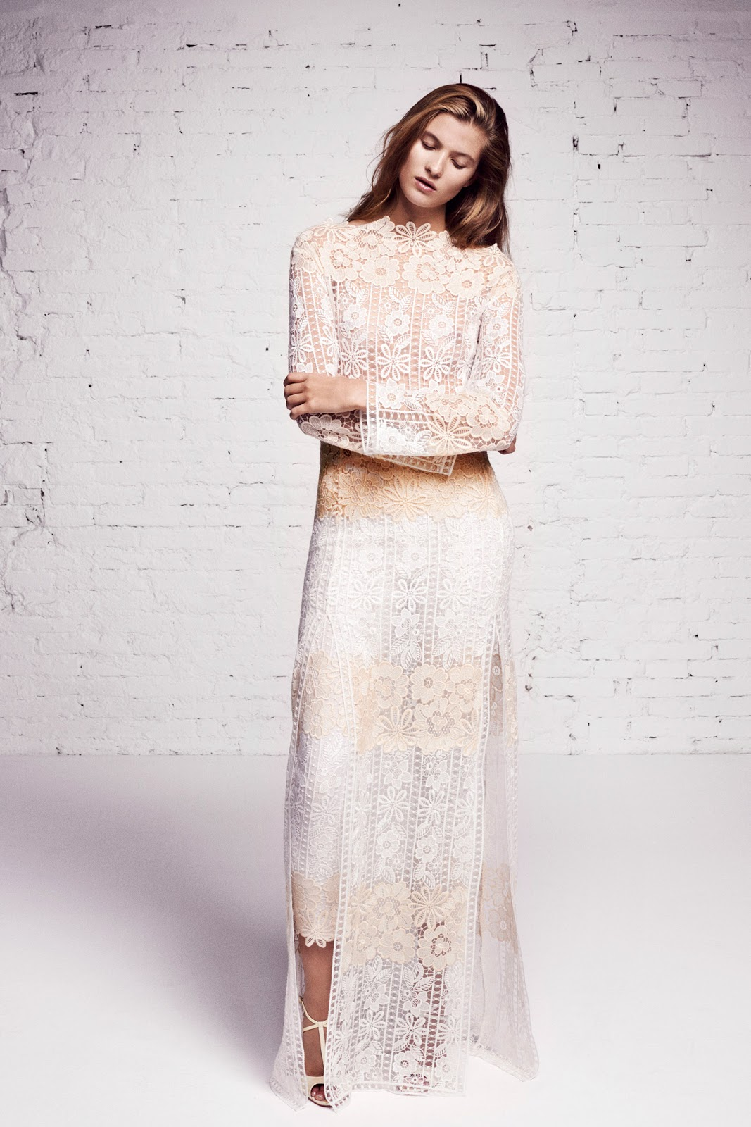 Blumarine Resort 2016 Look 5 via fashioned by love british fashion blog