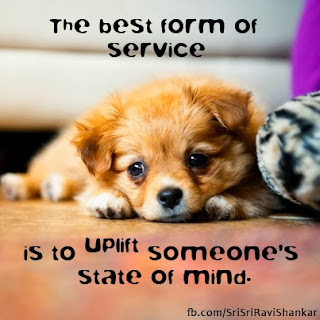 Quotes on Service by Sri Sri Ravi Shankar