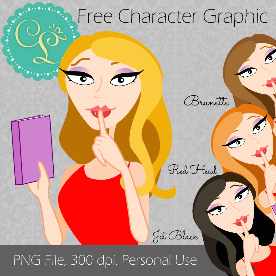 Free Character Design Website : Simply cassie lynn designs free book lover png character