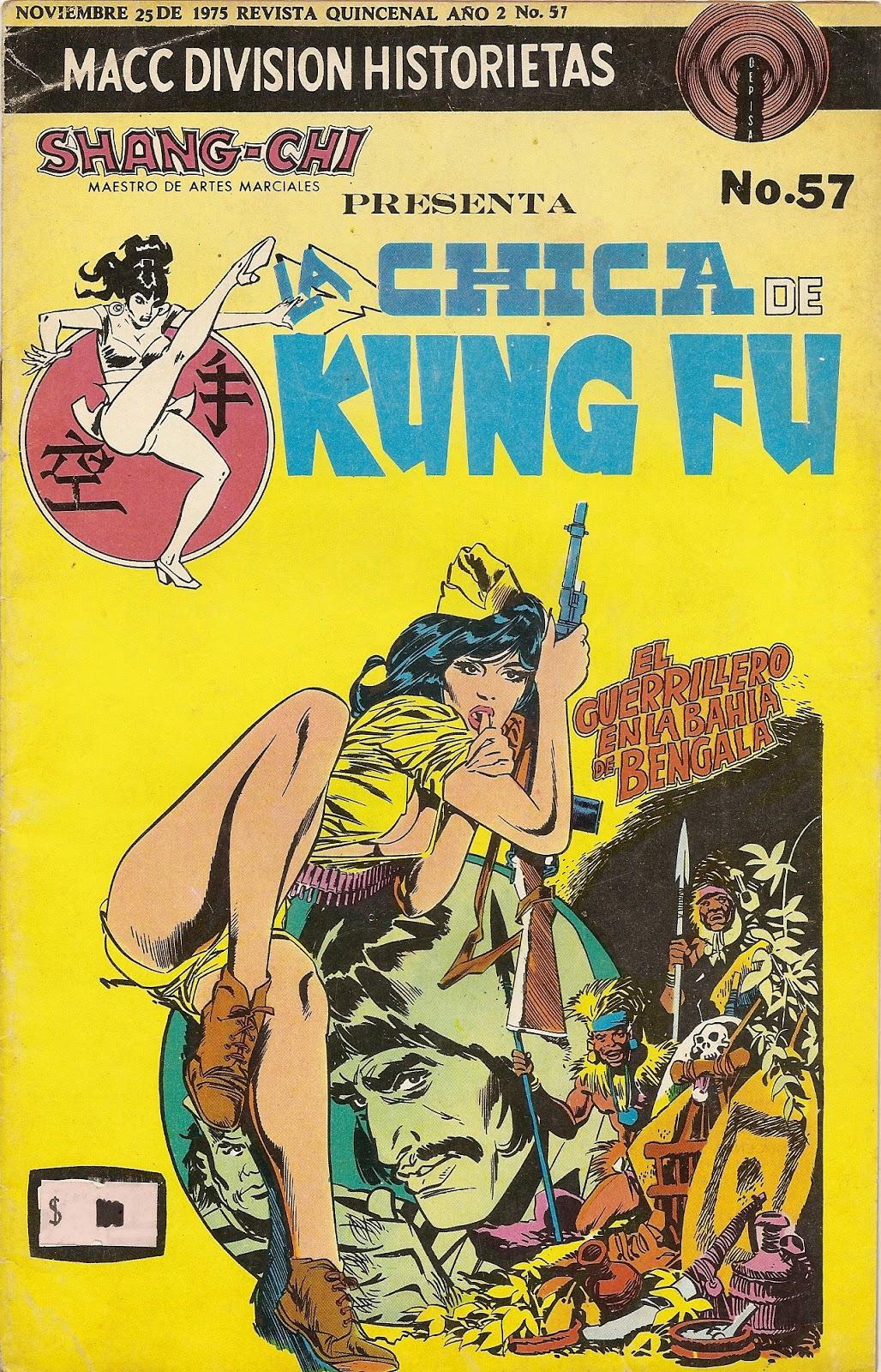 Chicas desnudas kung fu